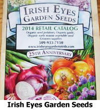 Quality seeds for cold, hardy, short season, organic, and veggies